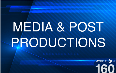21_MEDIA AND POST PRODUCTIONS MORE THAN 160